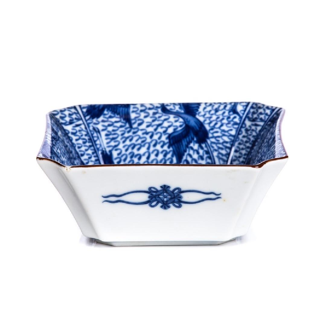CHINESE PORCELAIN BLUE AND WHITE DISH