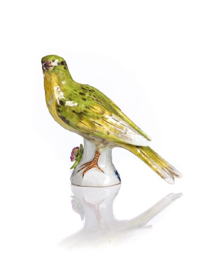SAMSON  PORCELAIN HAND PAINTED BIRD