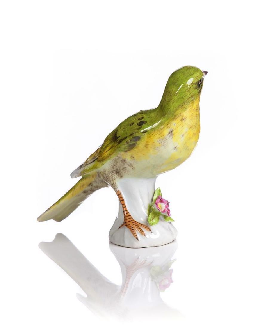 SAMSON  PORCELAIN HAND PAINTED BIRD - 2