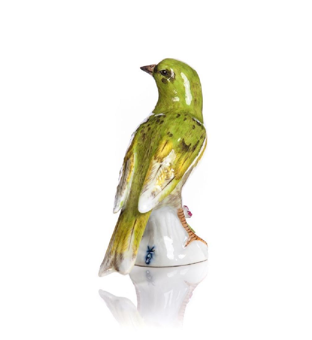 SAMSON  PORCELAIN HAND PAINTED BIRD - 3