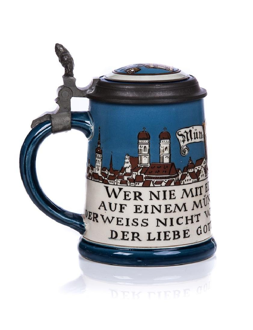 GERMAN METTLACH STEIN #2002