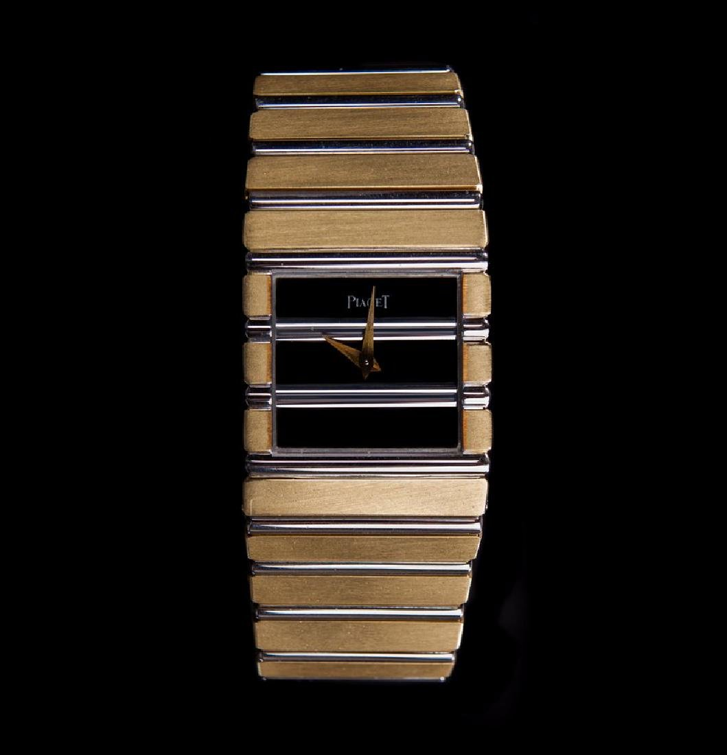 PIAGET POLO 18 KT TWO TONE UNISEX WATCH