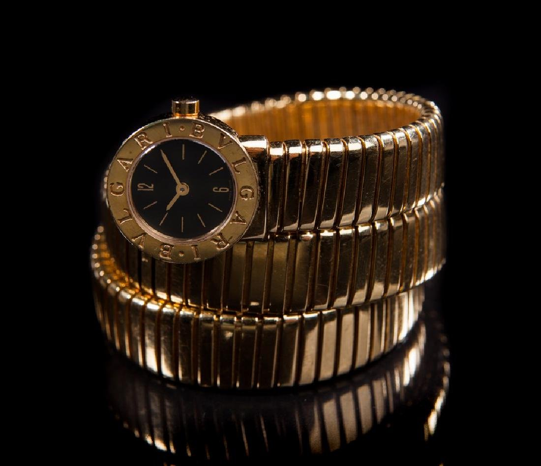 BULGARI SNAKE 18 KT YELLOW GOLD LADIES WATCH