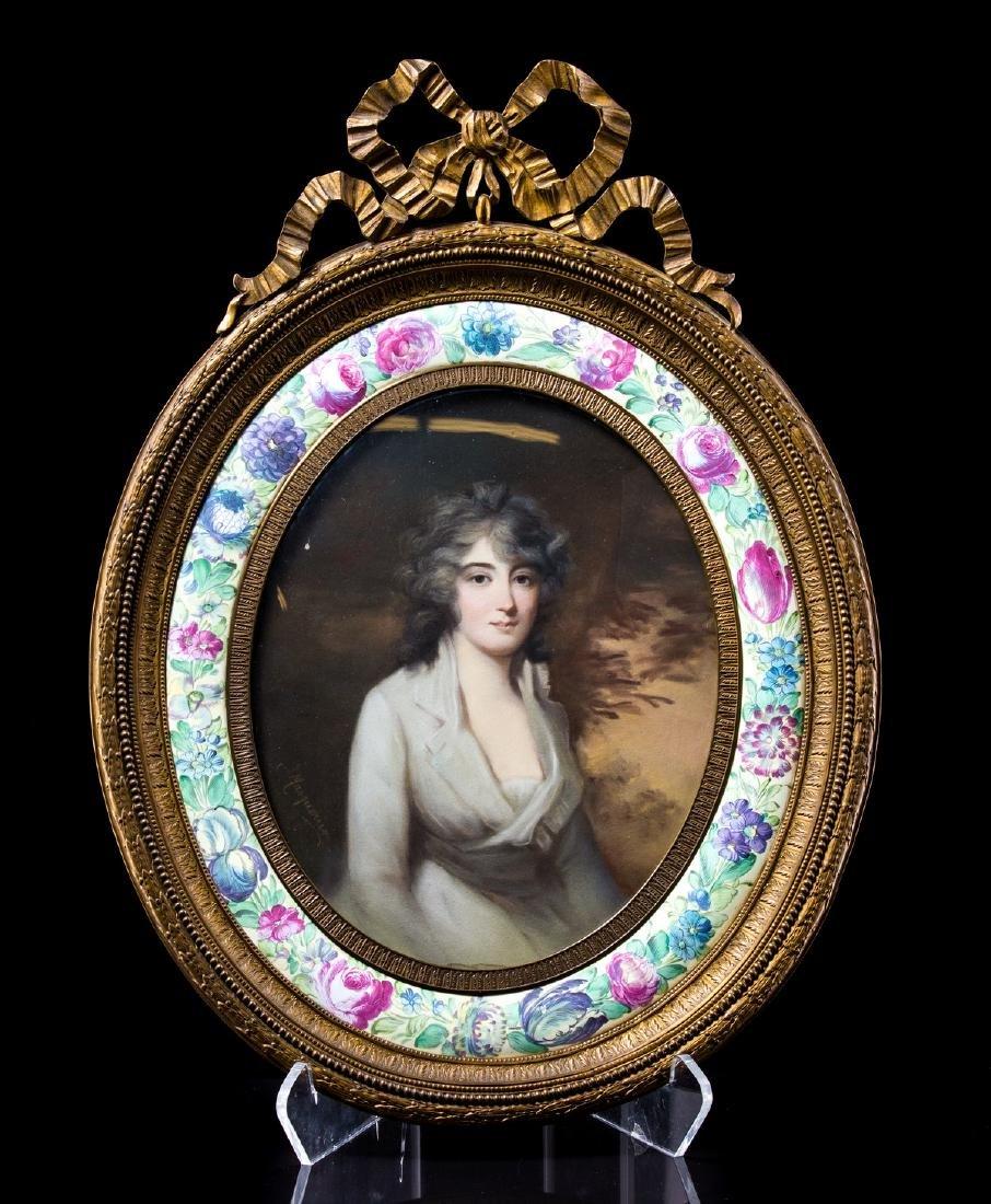 JAMES MASQUERIER (FRENCH 1778-1855) PORTRAIT
