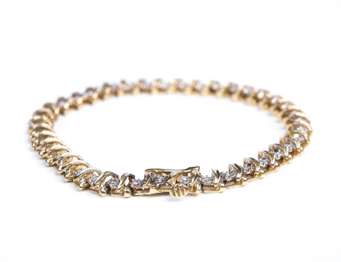 DIAMOND TENNIS BRACELET - 4