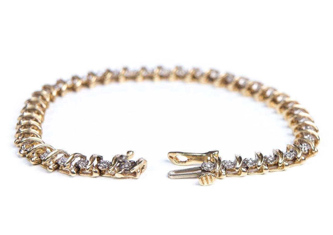DIAMOND TENNIS BRACELET - 5