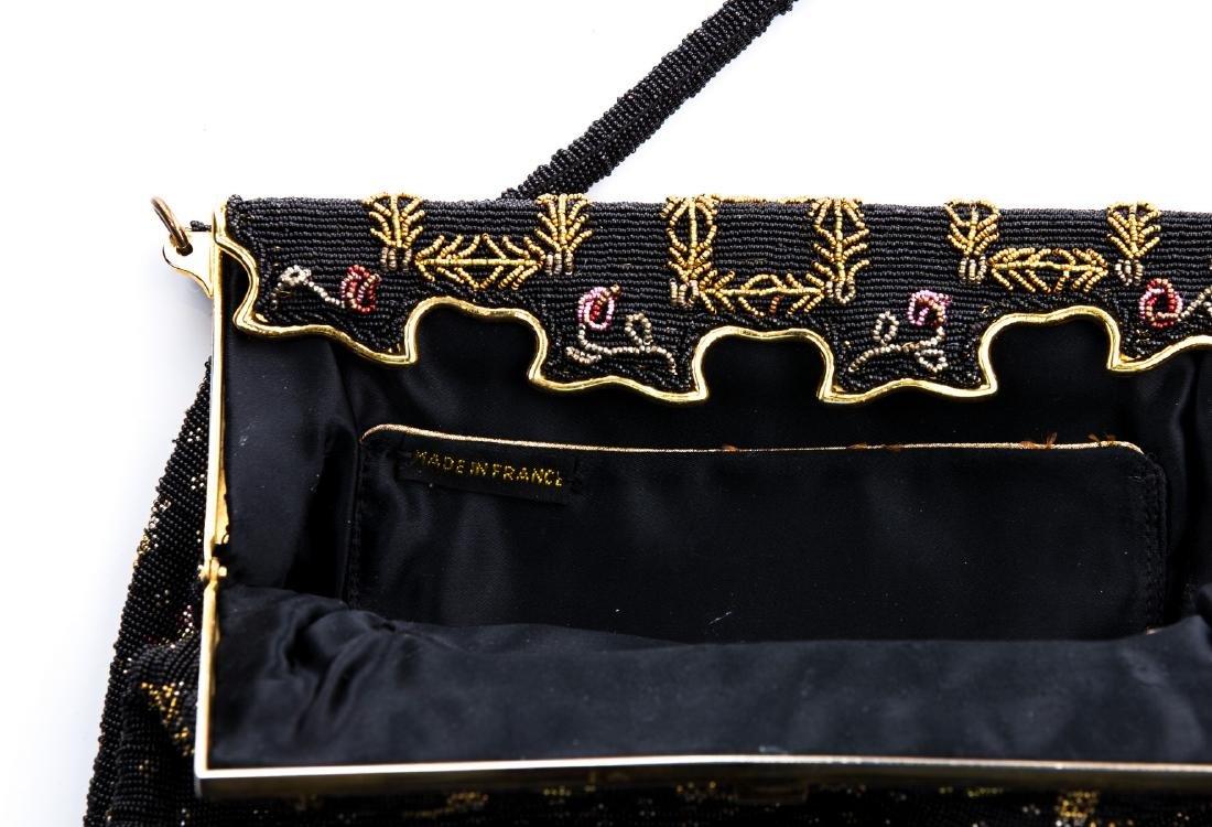 VINTAGE STEEL BEADED BAG (FRANCE) - 3