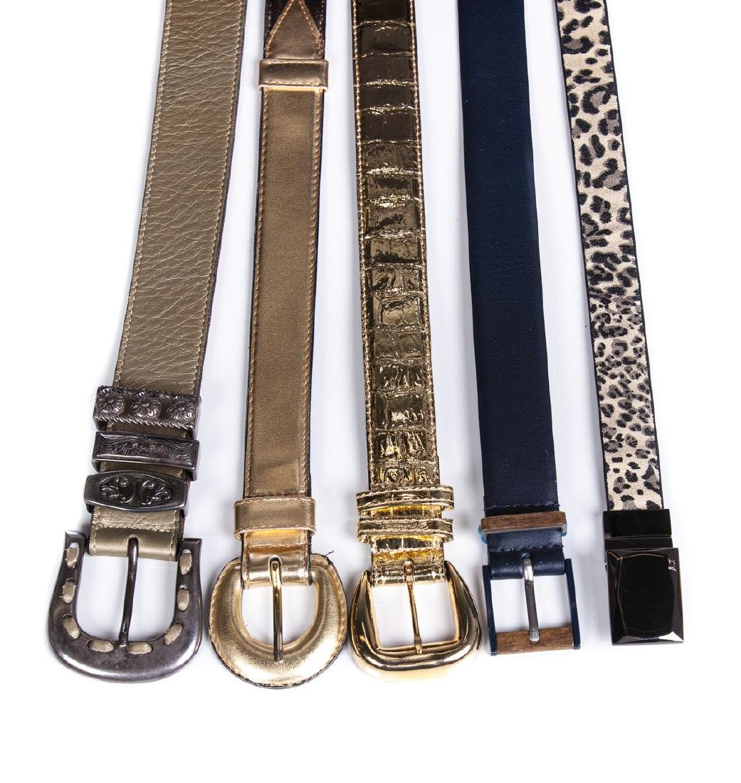 LADIES DECORATIVE BELTS