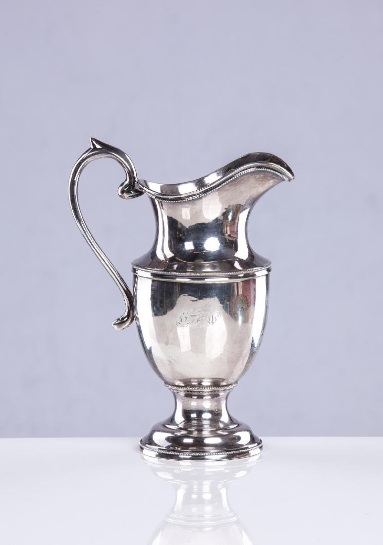 BROWN AND ANDERSON COIN SILVER LARGE CREAMER