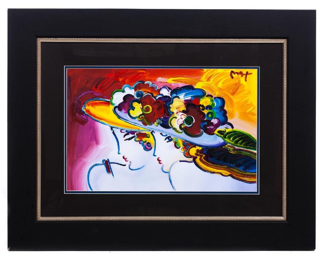 PETER MAX LITHOGRAPH SIGNED
