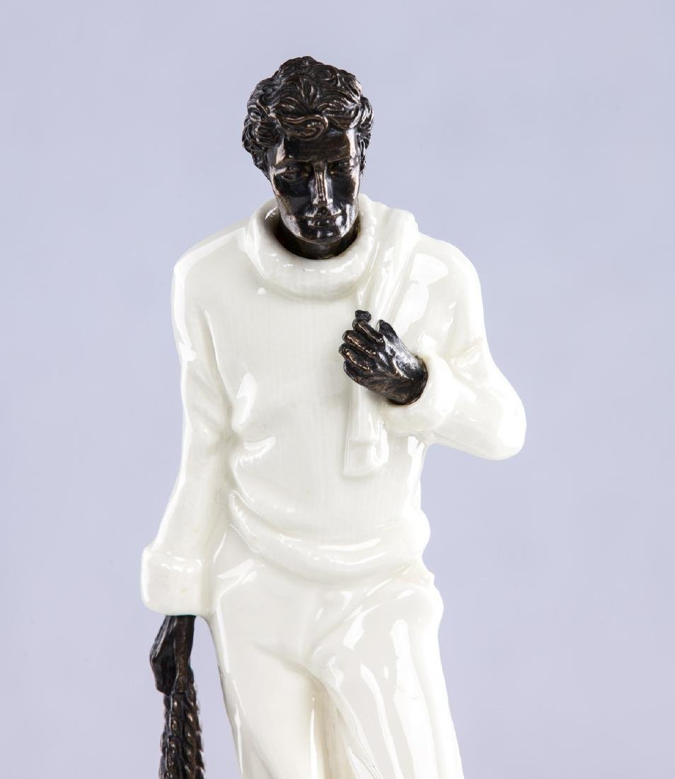 "MINTON PORCELAIN FIGURE ""THE FISHERMAN"" - 2"