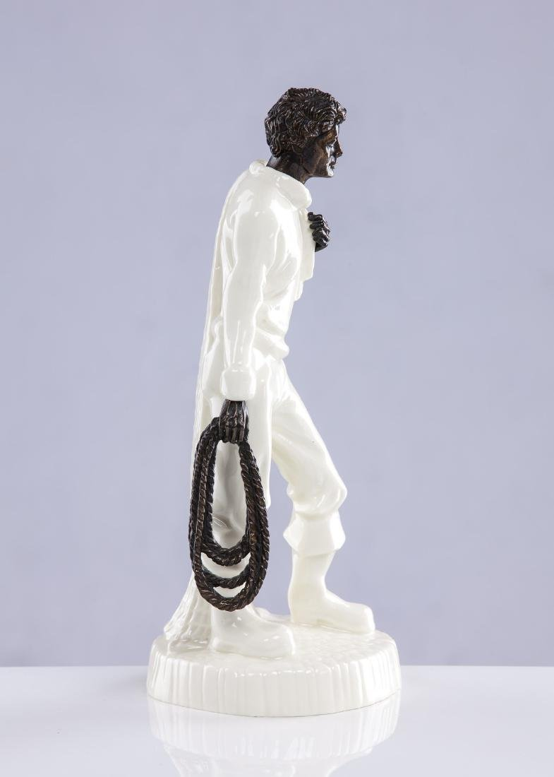 "MINTON PORCELAIN FIGURE ""THE FISHERMAN"" - 4"