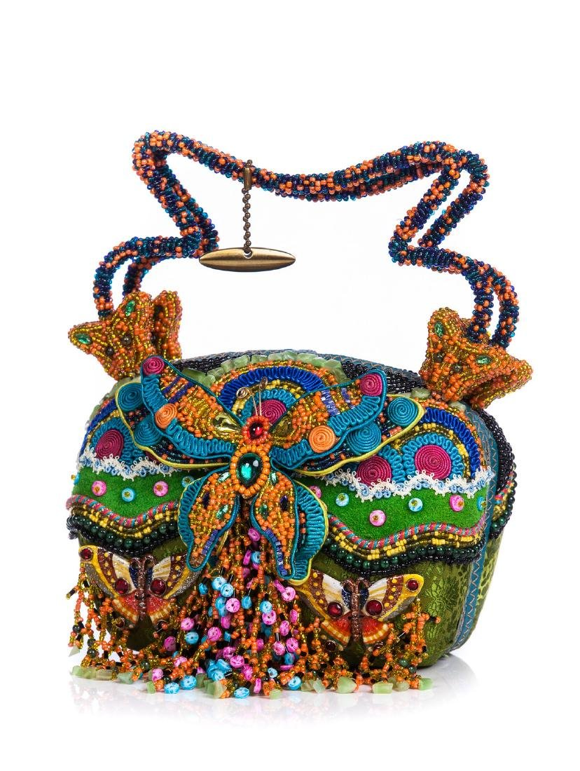 MARY FRANCES BUTTERFLY COLOR BAG