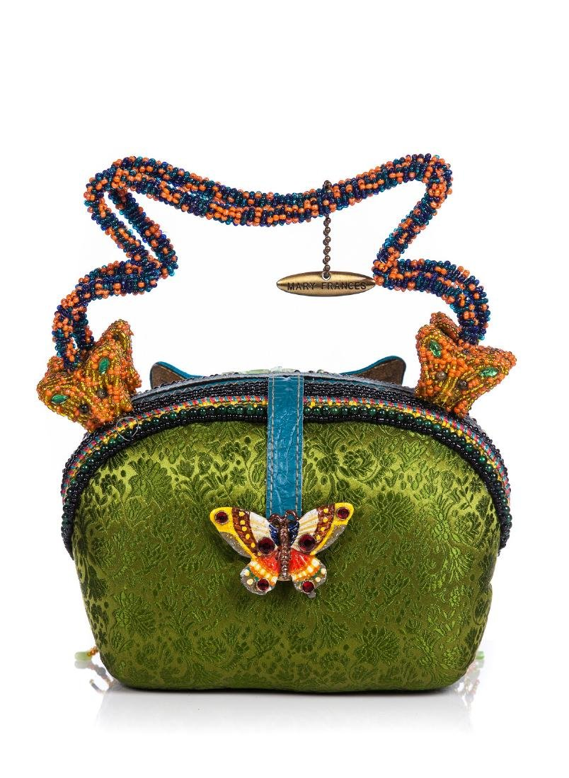 MARY FRANCES BUTTERFLY COLOR BAG - 2