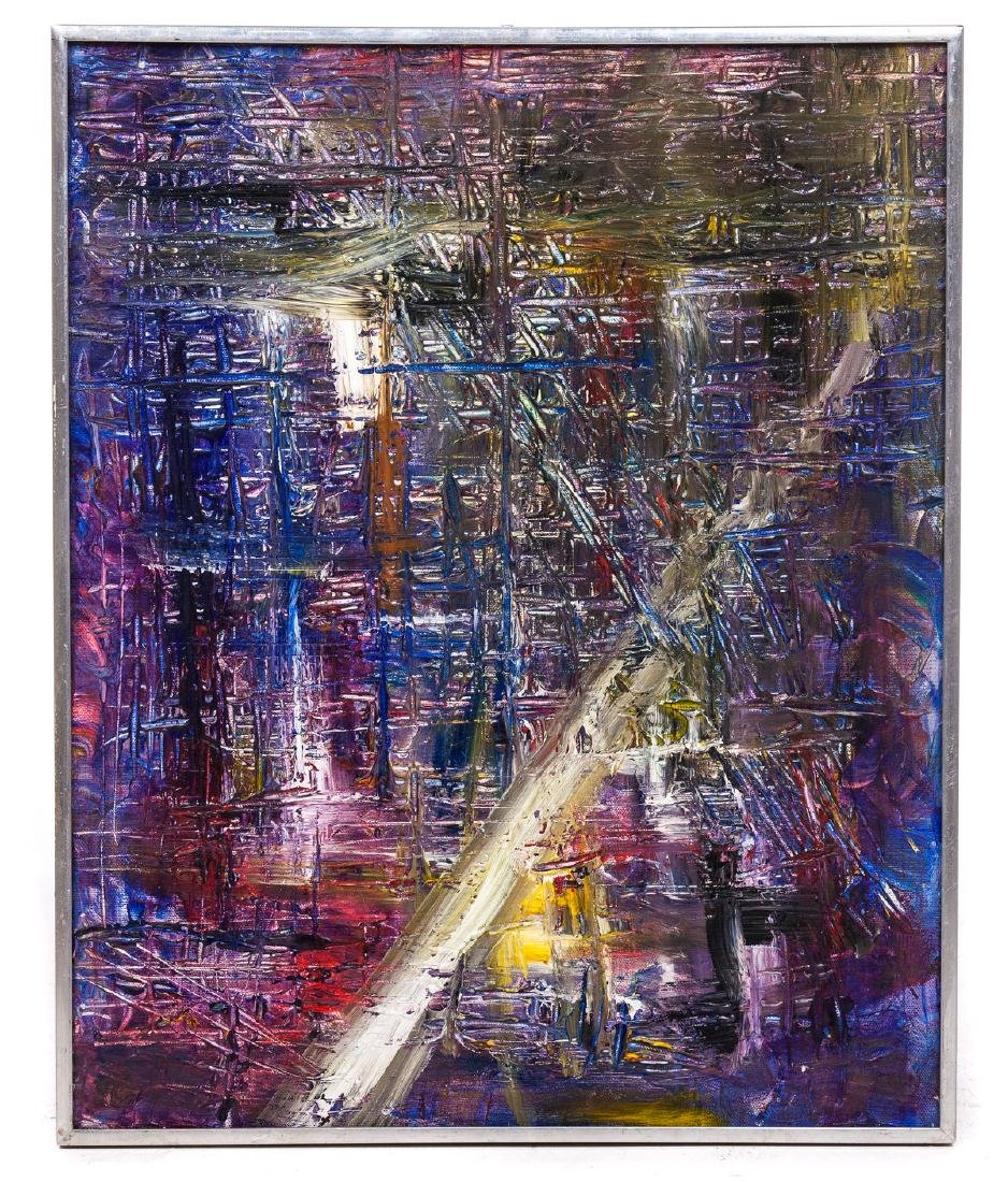 "JAMES MACKEN ""HOUSE OF LIGHT"" ABSTRACT"
