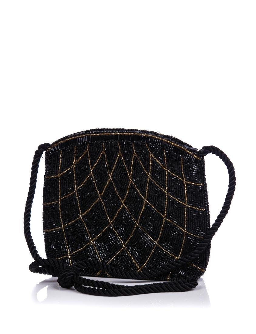 PAOLA DEL LUNGO EVEING BEADED BAG