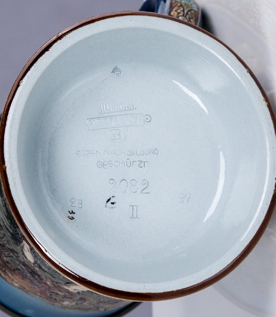 METTLACH 1/2 L NO. 2082 ETCHED WILLIAM TELL STEIN - 6