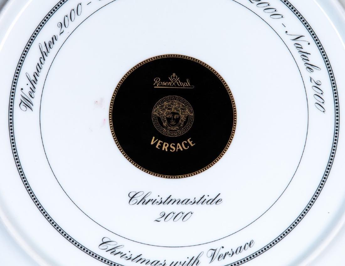 ROSENTHAL VERSACE PLATE CHRISTMASTIDE 2000 - 5