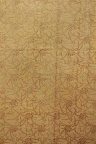 Extremely Fine Nepali Bamboo Silk Rug