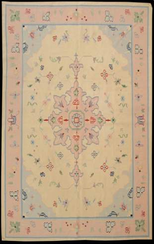 Extremely Fine Dhurrie Rug