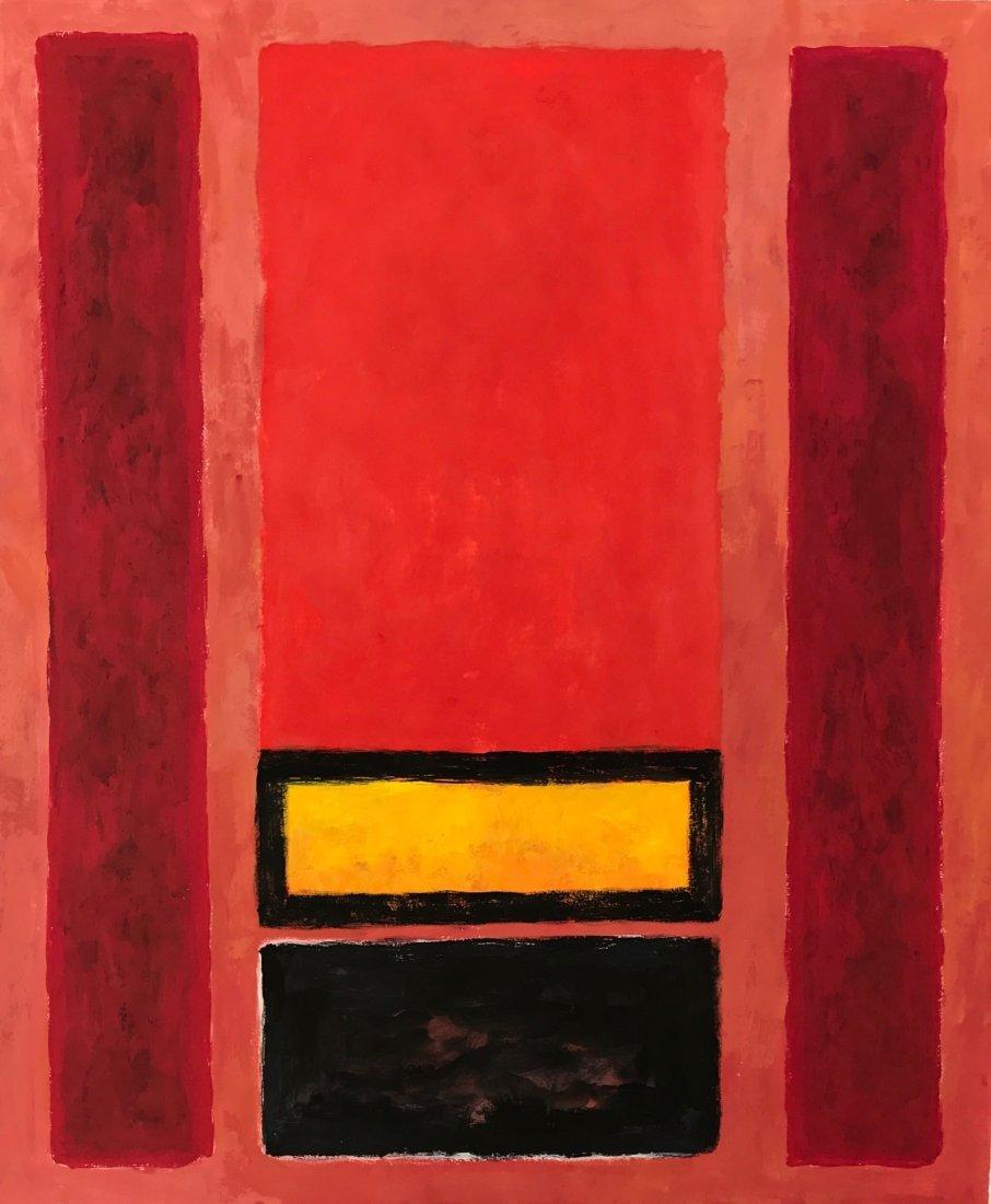 Mark Rothko (Gouache on paper)