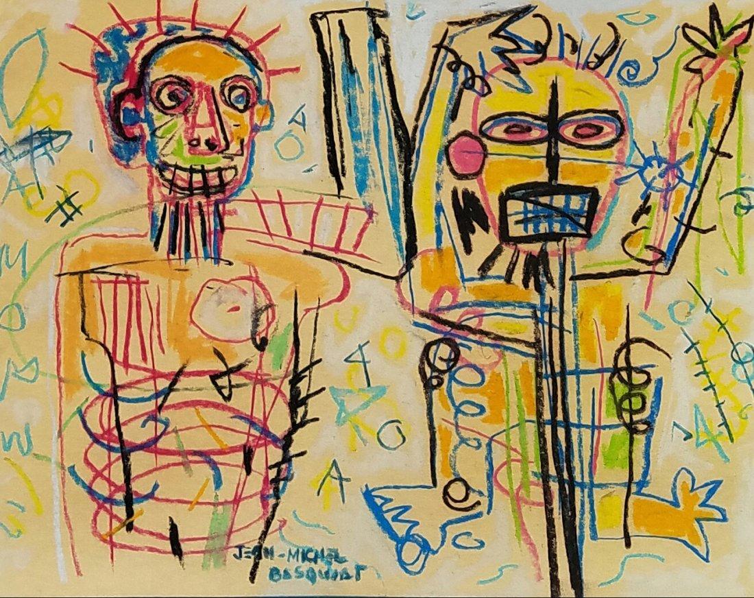 Attributed to Jean Michel Basquiat