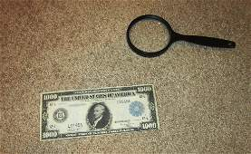 $1000 Bill 1918 RARE!!!