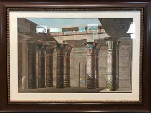 Philae Temple dIsis salle hypostyle