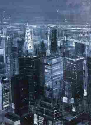 DOspina EV Manhattan at Night