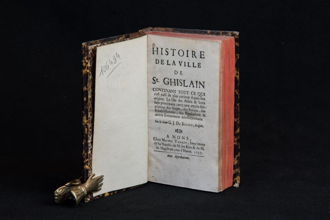 De Boussu G.J. - HISTOIRE DE LA VILLE DE St.GHISLAIN. - 5