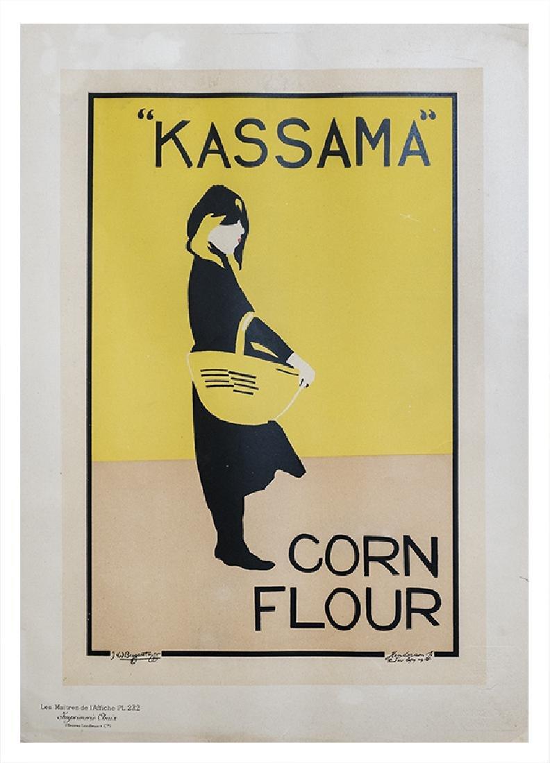 Les Maitres de l'affiche - Kassama Corn Flour