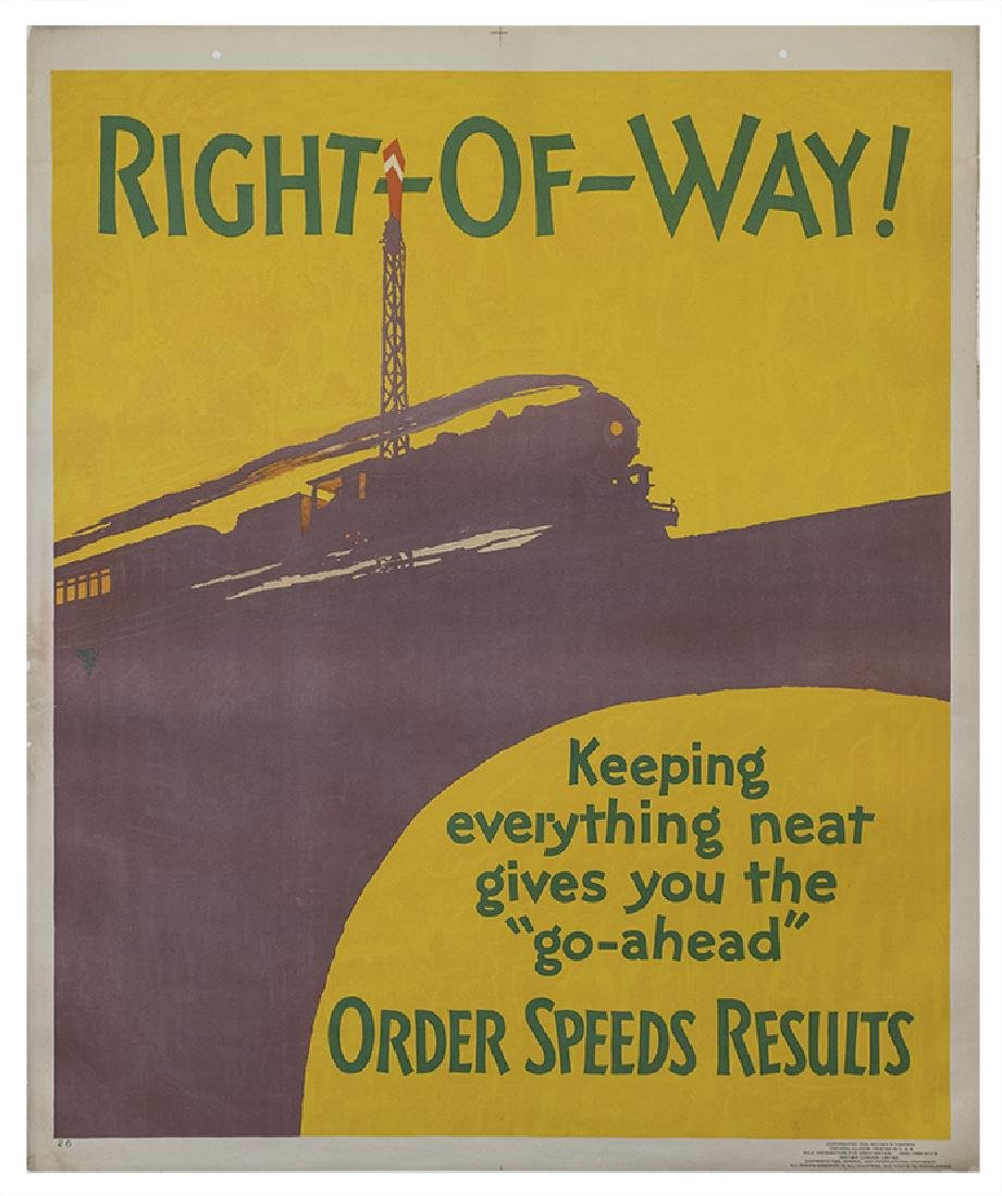 "Motivational Poster: ""Right of way"""