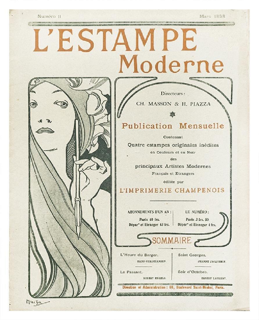 Estampe Moderne, copertina