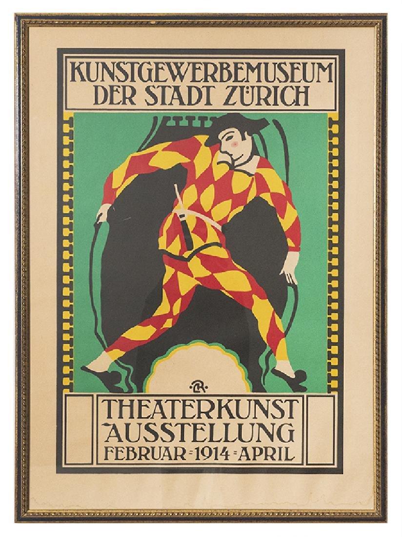 TheaterKunst Ausstellung  (Arlecchino)