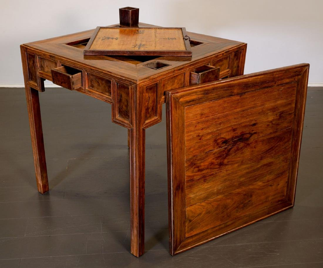 Game table - China, Shanxì Province - 19th century