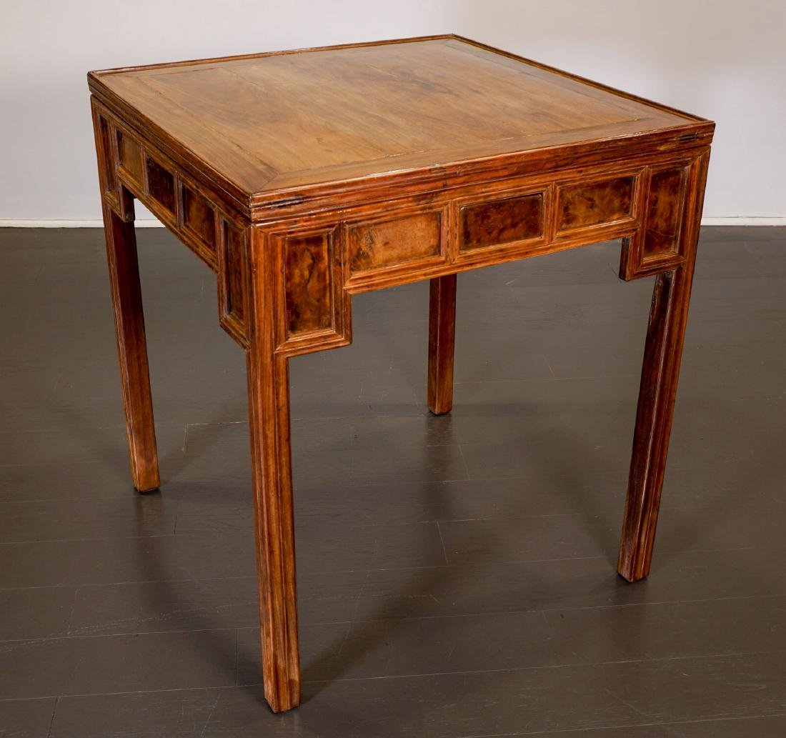 Game table - China, Shanxì Province - 19th century - 2