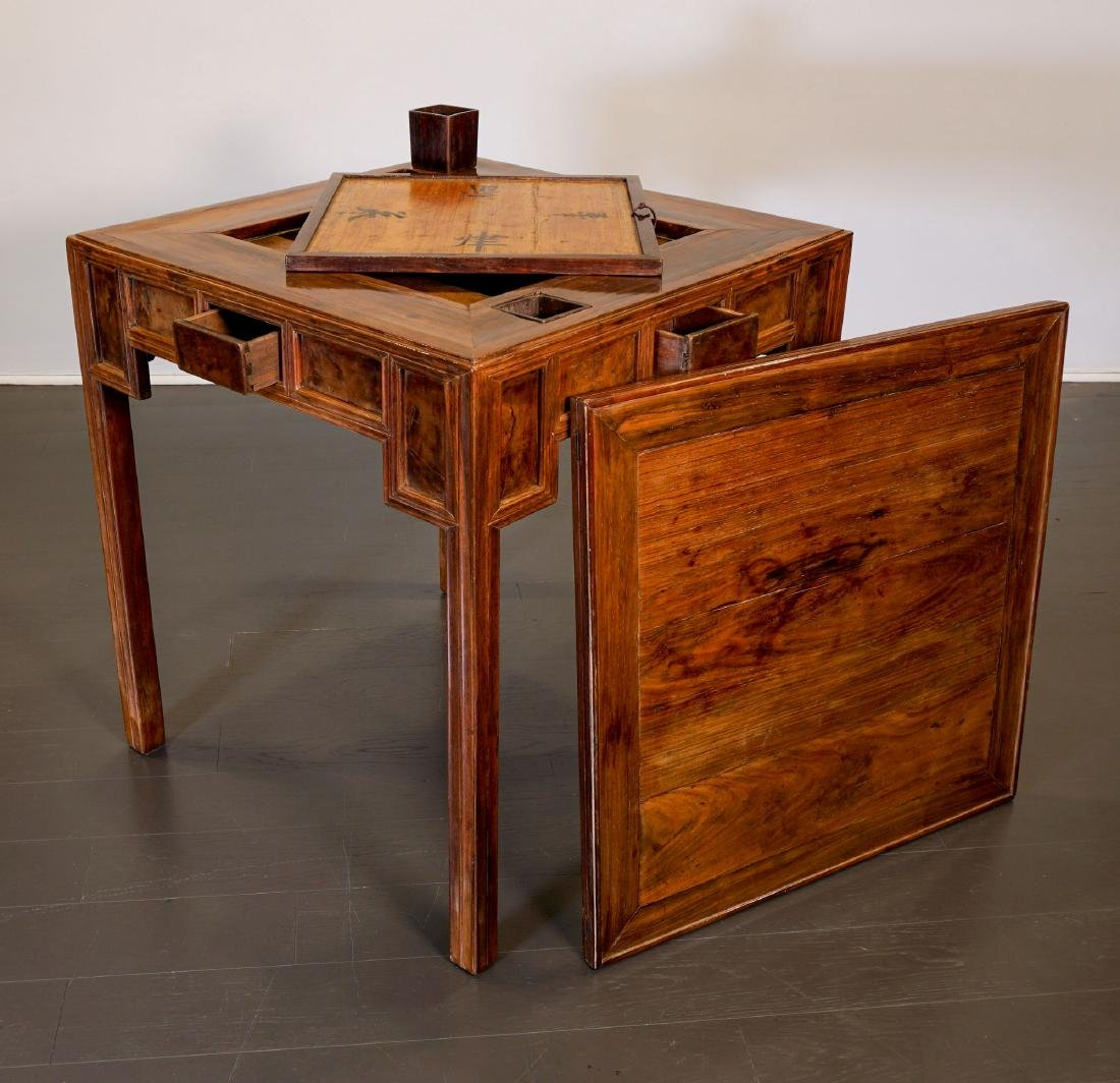Game table - China, Shanxì Province - 19th century - 3