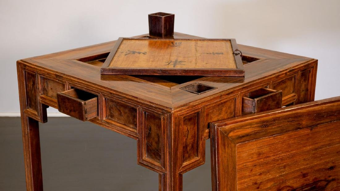 Game table - China, Shanxì Province - 19th century - 4