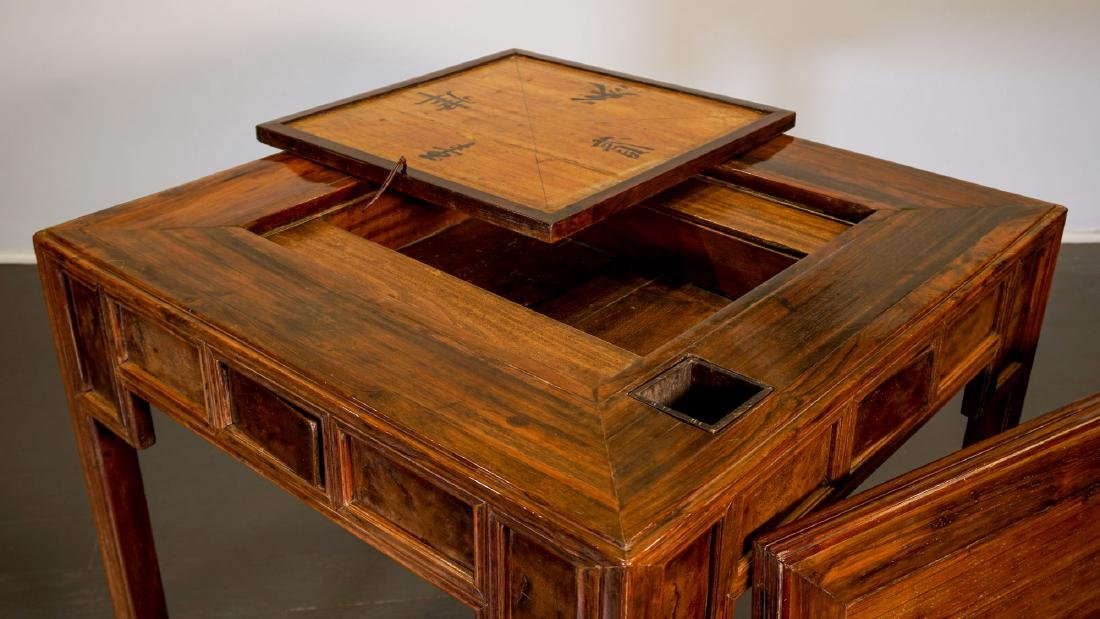 Game table - China, Shanxì Province - 19th century - 5