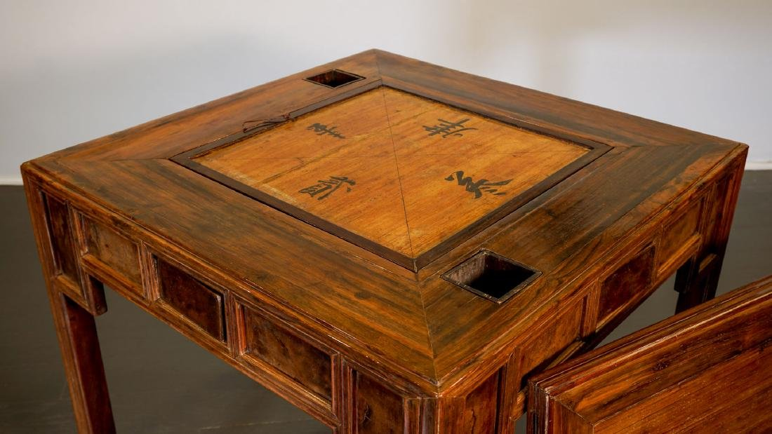 Game table - China, Shanxì Province - 19th century - 6
