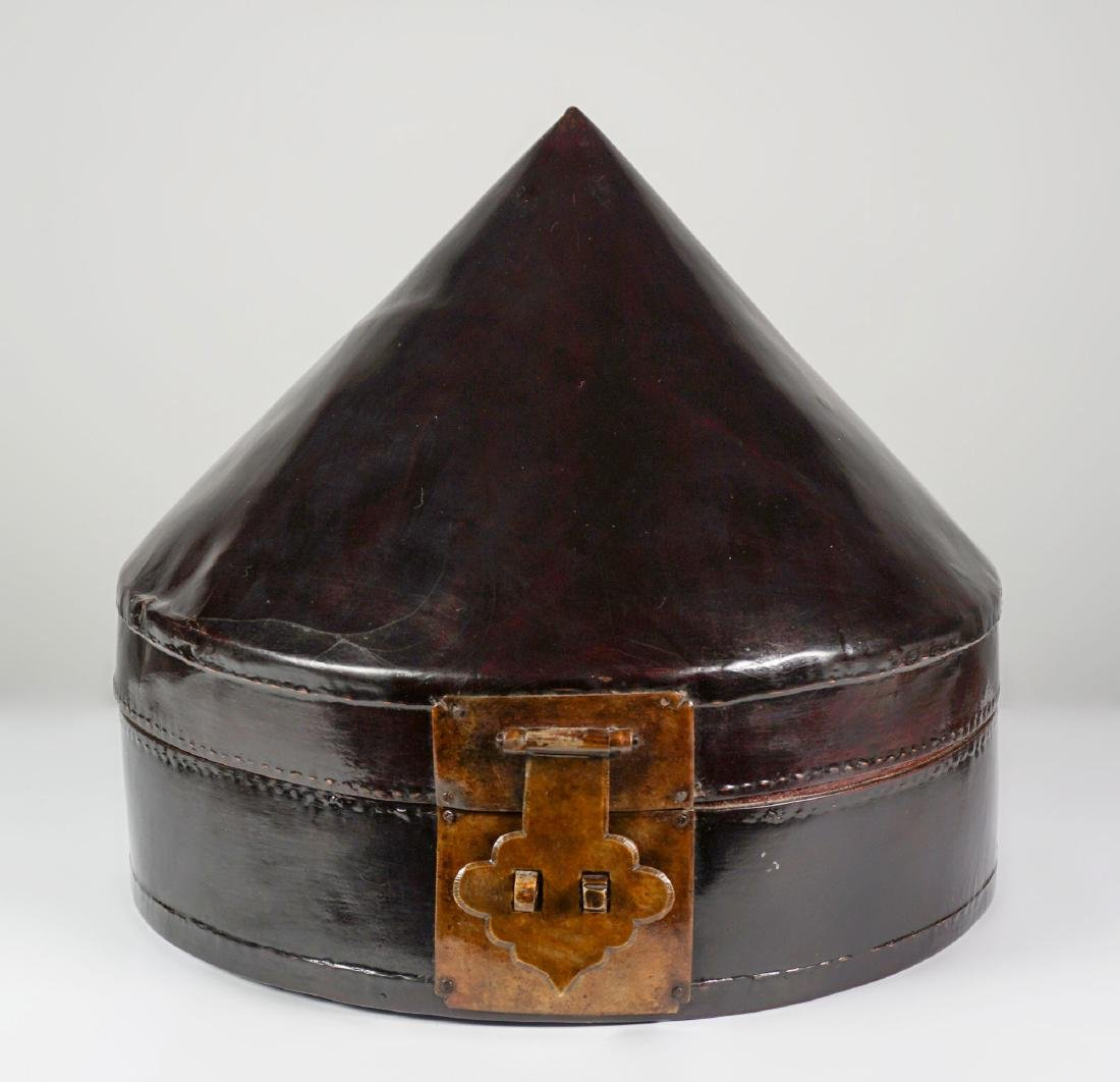 Hatbox - China, Shanxì Province - 19th century