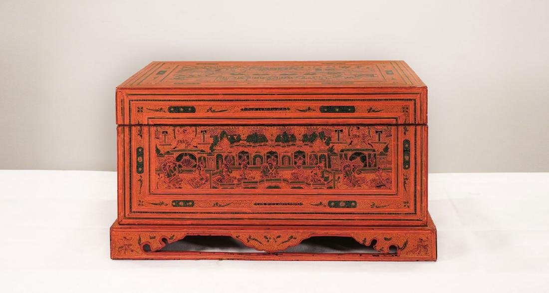 Trunk - Burma - late 19th century
