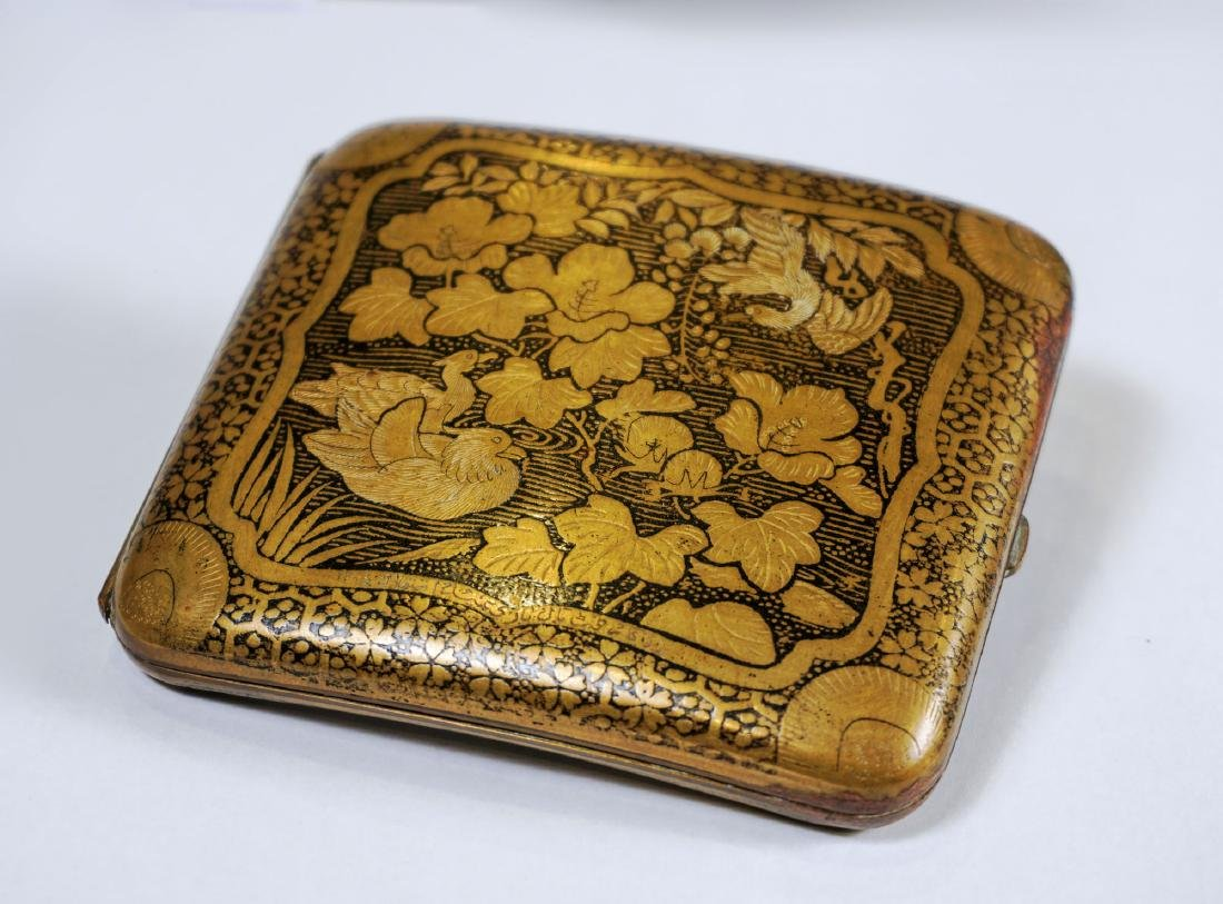 Cigarette case - Japan - late 19th century - 2