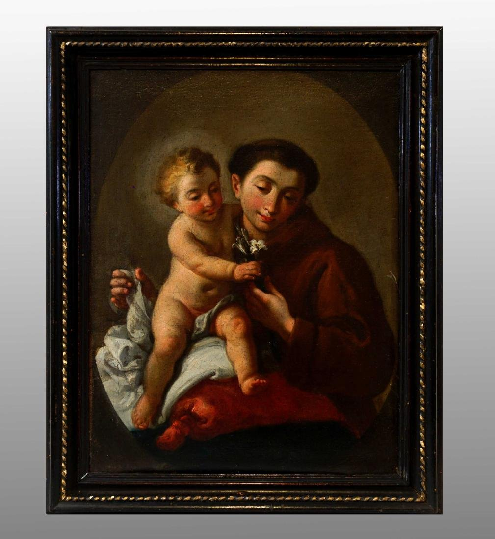SAINT ANTHONY OF PADUA WITH CHILD JESUS