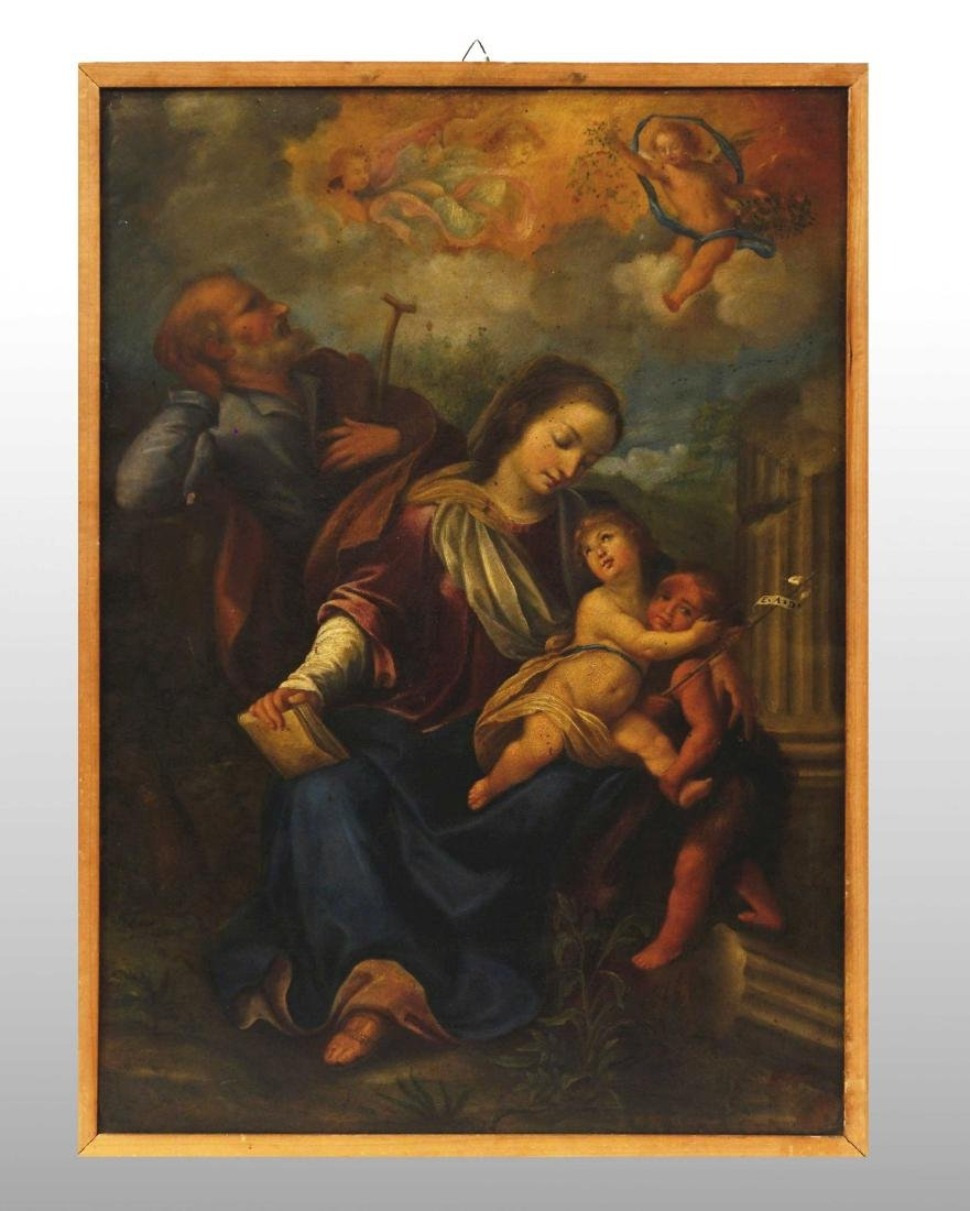 HOLY FAMILY WITH SAN GIOVANNINO