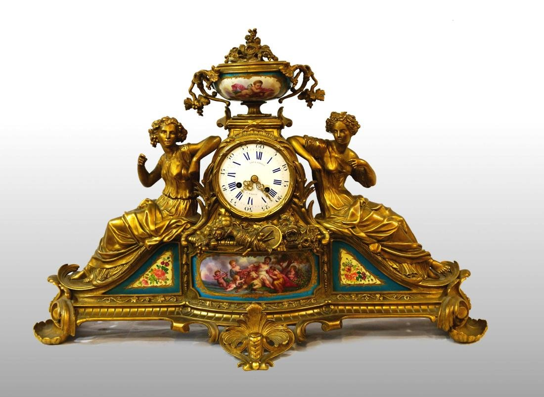 FRENCH CLOCK LEVY FRERES
