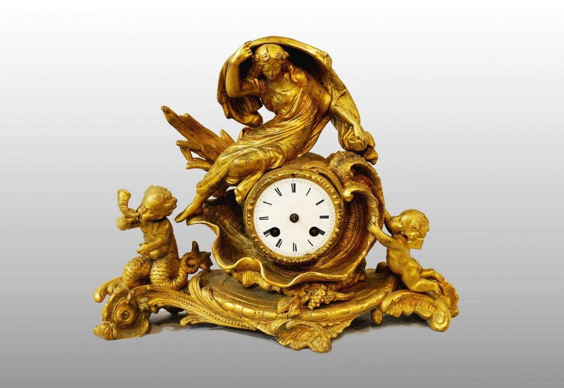 TRIUMPH OF GALATEA CLOCK
