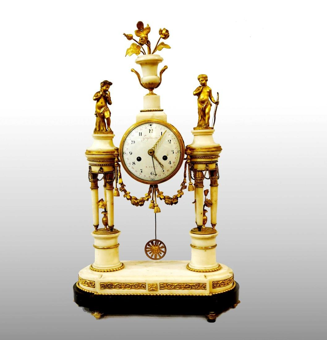 FRENCH CLOCK LOUIS XVI