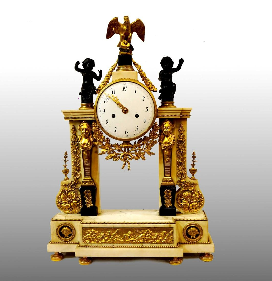 NEOCLASSICAL FRENCH CLOCK