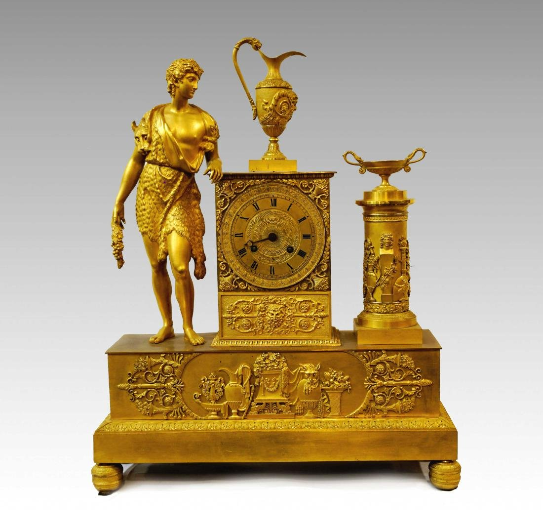 CLOCK WITH HERCULES
